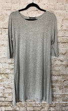 Load image into Gallery viewer, Gray Short Sleeve Dress