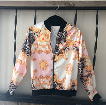 "Load image into Gallery viewer, ""Not Your Average"" Jacket (Pink/Orange)"