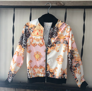 """Not Your Average"" Jacket (Pink/Orange)"