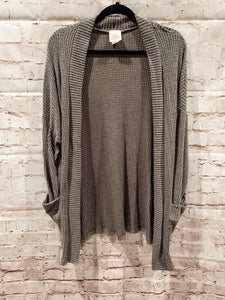 "Gray ""EVERYDAY"" Cardigan"