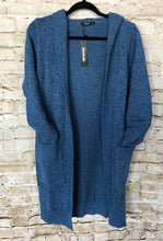 Load image into Gallery viewer, Blue Heather Cardigan