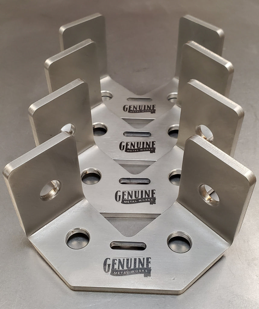 "4"" Genuine Speed Squares X 4 - 304 stainless steel"