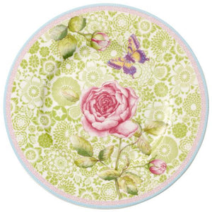 "Copy of Villeroy&Boch ""Rose Cottage"" Ontbijtbord - groen"