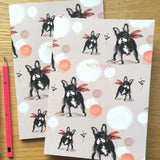A5 NOTEBOOK: SET OF TWO – French Bulldog