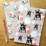 A5 NOTEBOOKS: SET OF TWO – Dalmatian