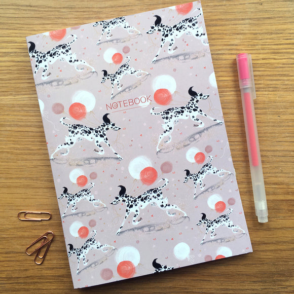 A5 NOTEBOOK (Single) – Dalmatian