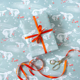 Christmas Gift Wrap Sheets (6) –  Polar Bear