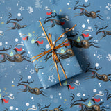 CHRISTMAS GIFT WRAP: 6 SHEETS – 2 DESIGNS (Winter Wonder Collection)