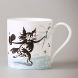 FINE BONE CHINA MUG – Top Hat Cat