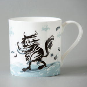 FINE BONE CHINA MUG | 'Fishy Pie'