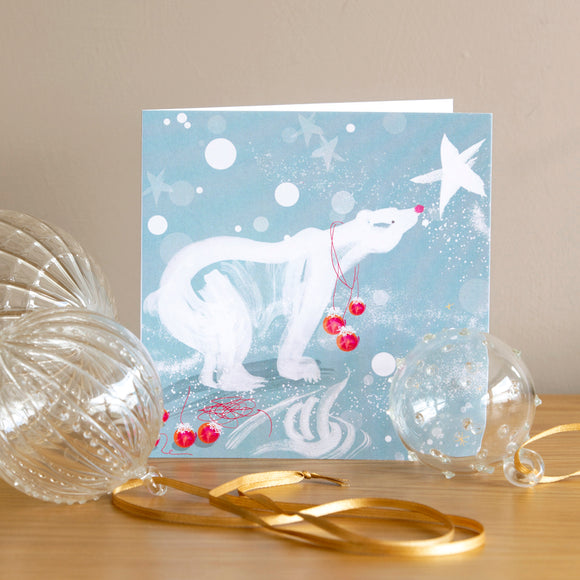 CHRISTMAS CARDS, (6) – Polar Bear