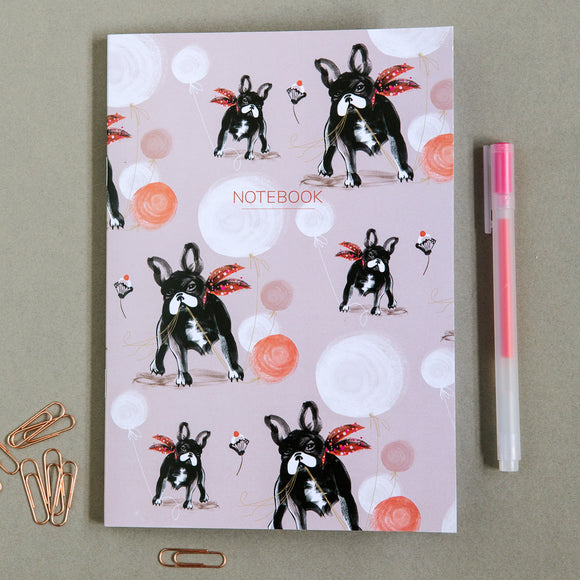 A5 NOTEBOOK (Single) – French Bulldog