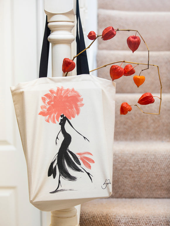 TOTE BAG – Miss Dahlia | Limited edition