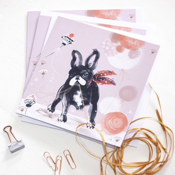 GREETINGS CARD – French Bulldog (Single Card)
