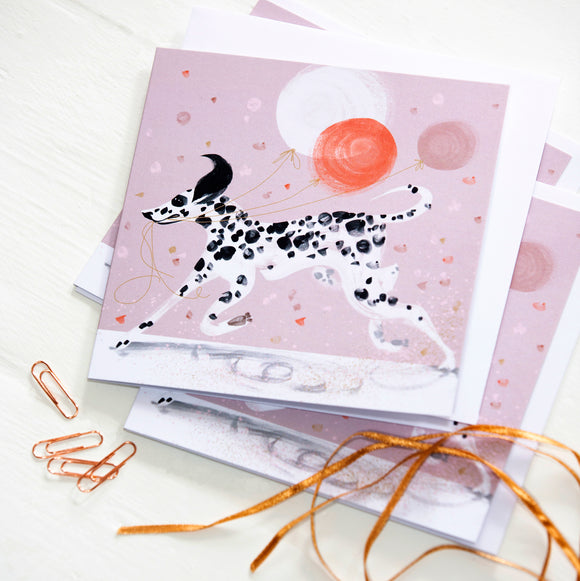 GREETINGS CARD – Dalmatian (Single card)