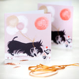 GREETINGS CARD, (Set of 6 cards) – Scottish Terrier