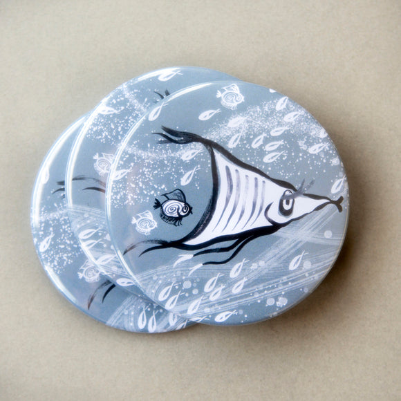 POCKET MIRROR - Ribbon Angel Fish