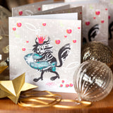 CHRISTMAS 'CATFISH' CARDS: PACK OF 6 (Winter Wonder Collection)
