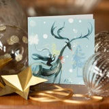 CHRISTMAS CARDS: MIXED 8 PACK (Winter wonder Collection)