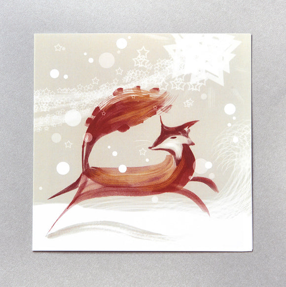 CHRISTMAS CARDS  | Mr Fox (Single card)