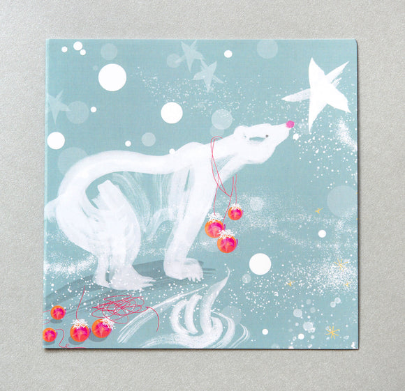 CHRISTMAS CARD | Polar Bear (Single card)