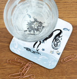 COASTER – JUMPING JACK CAT ('Fishy Tales' collection)