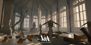 V&A immersive Rodin Sculpture space