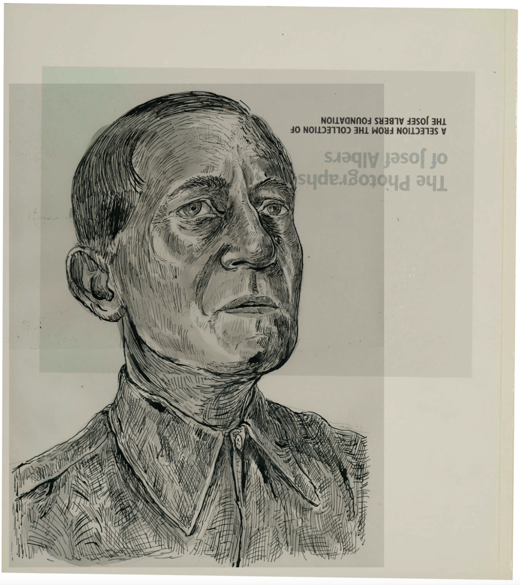 J.Albers portrait at Bauhaus