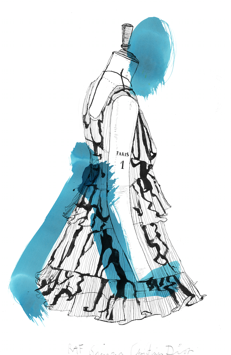 Christian Dior Drawing