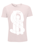 Shit T-shirt in the pink white type