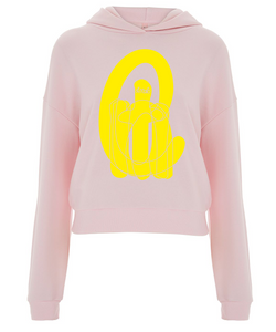 C.u.n.t top in the pink yellow type