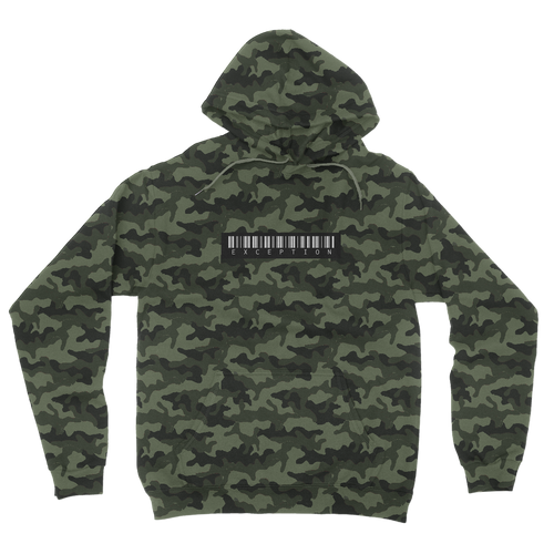 Camouflage Exception Hoodie