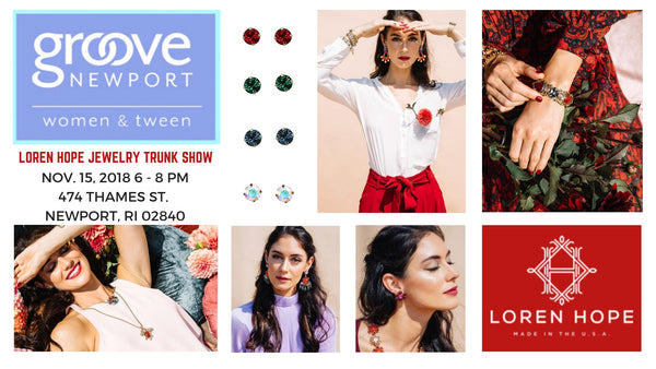 Loren Hope Trunk Show