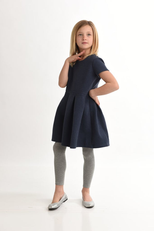 Short Sleeve Scuba Dress