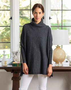 Newport Travel Sweater in Storm