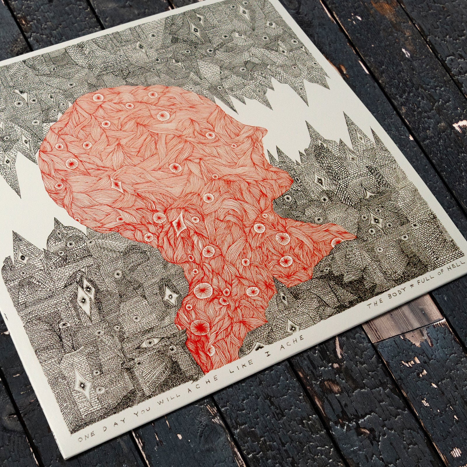 THE BODY & FULL OF HELL - ONE DAY YOU WILL ACHE LIKE I ACHE - 12 VINYL