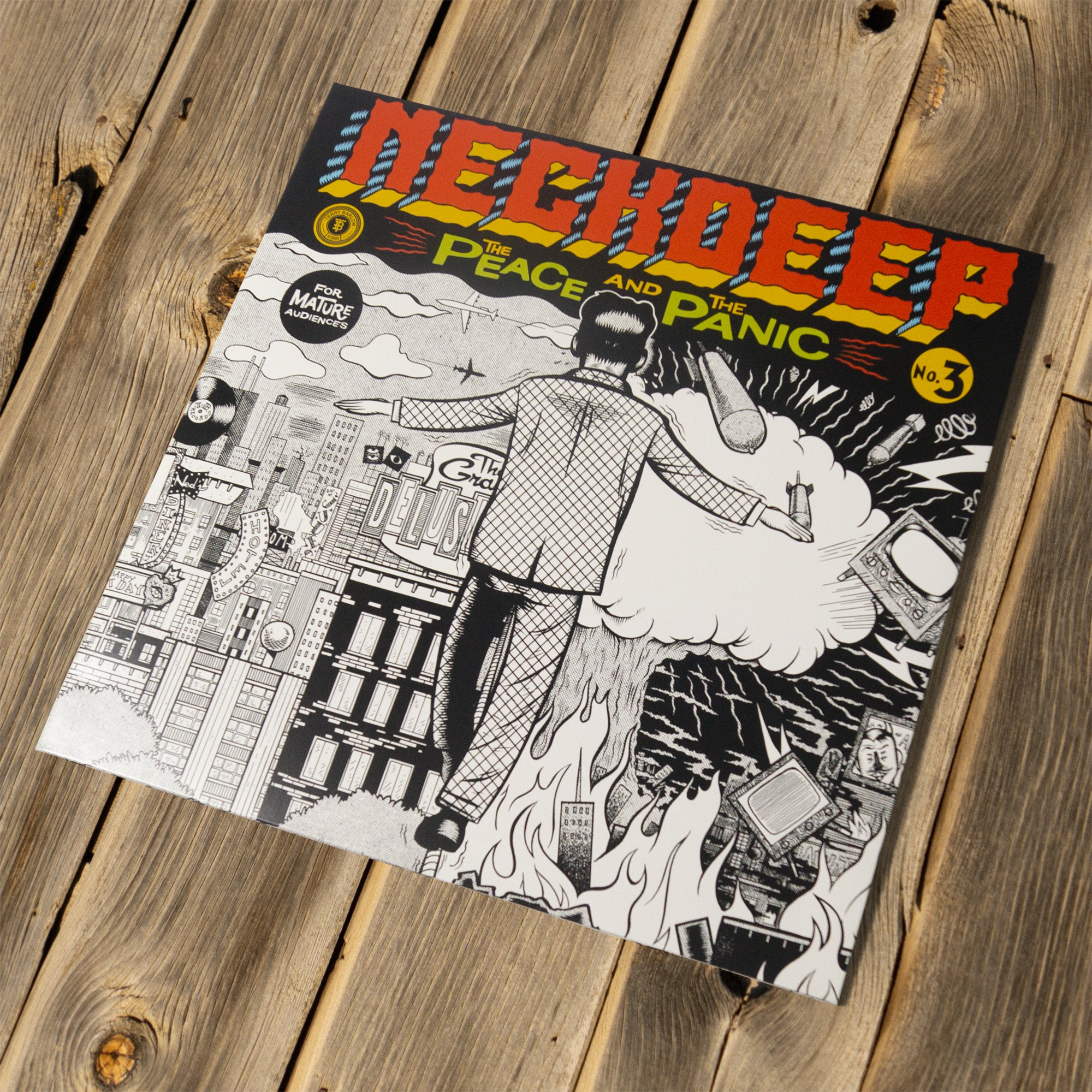 NECK DEEP - THE PEACE AND THE PANIC - 12 VINYL
