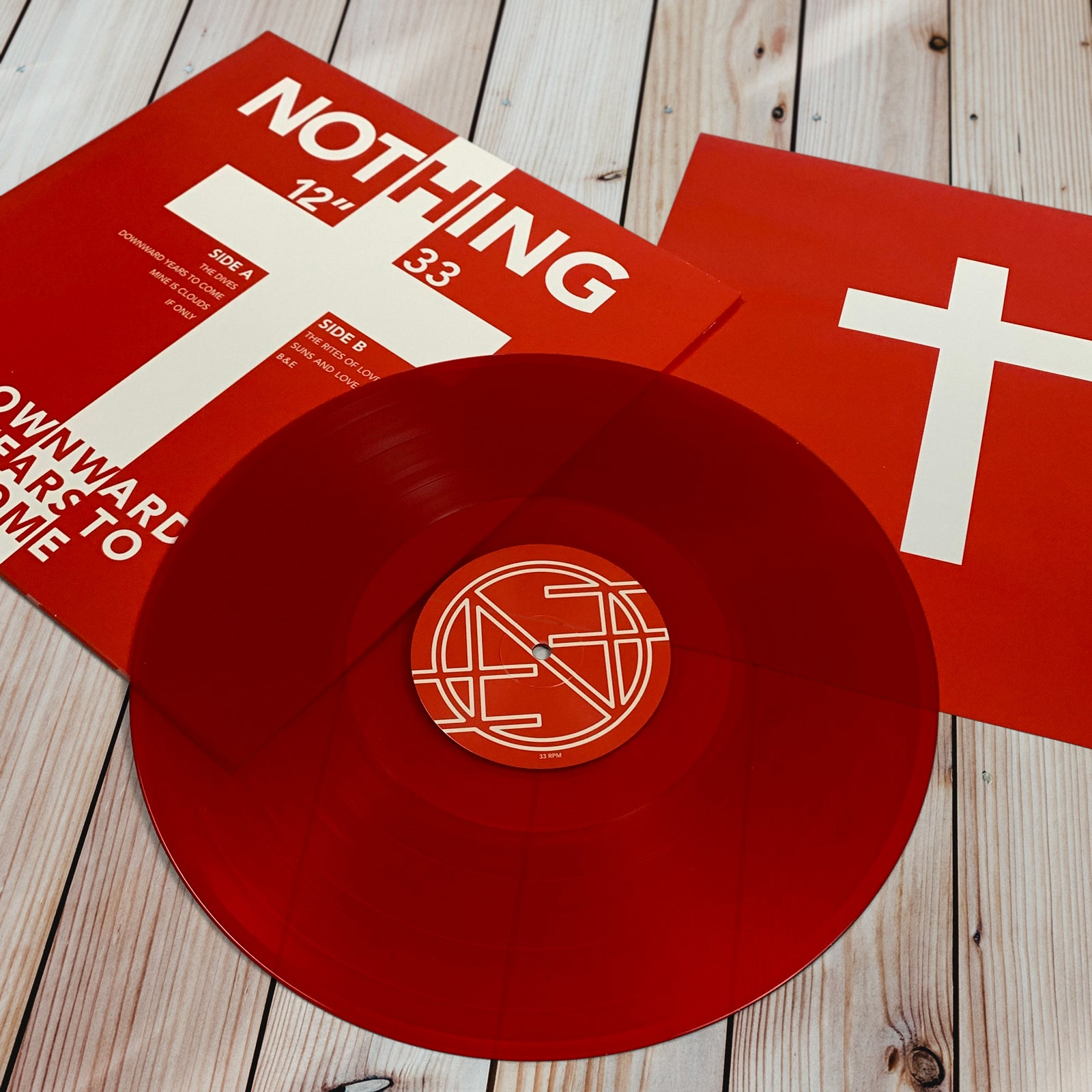 NOTHING - DOWNWARD YEARS TO COME - 12 VINYL