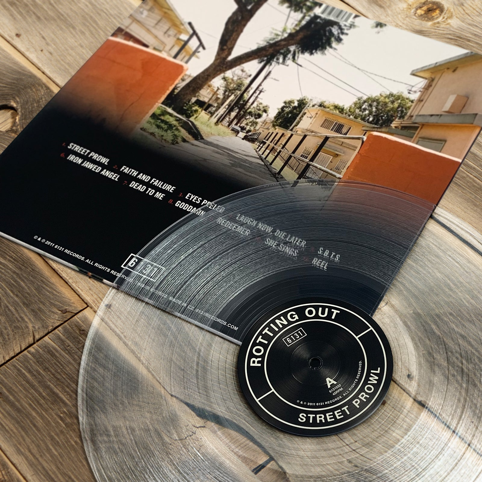 ROTTING OUT - STREET PROWL - 12 VINYL