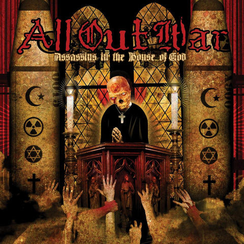 "All Out War ""Assassins in the House of God"" LP"