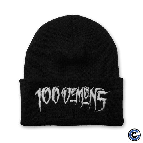 "Buy – 100 Demons ""OG Logo"" Beanie – Band & Music Merch – Cold Cuts Merch"