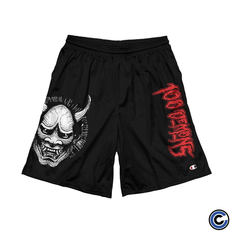 "100 Demons ""Hanya Mask"" Shorts"