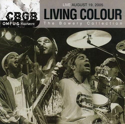 "Living Colour ""Live August 19, 2005 - CBGB OMFUG Masters: The Bowery Collection"" CD"