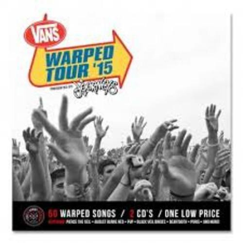 "Buy – Various Artists ""2015 Warped Tour Compilation"" 2xCD – Band & Music Merch – Cold Cuts Merch"