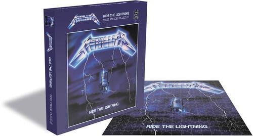 "Buy – Metallica ""Ride The Lightning"" Puzzle – Band & Music Merch – Cold Cuts Merch"