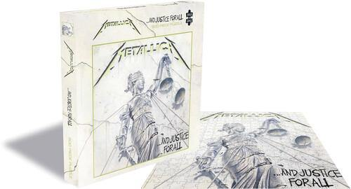 "Buy – Metallica ""...And Justice For All"" Puzzle – Band & Music Merch – Cold Cuts Merch"