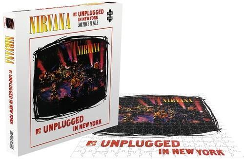 "Buy – Nirvana ""MTV Unplugged"" Puzzle – Band & Music Merch – Cold Cuts Merch"