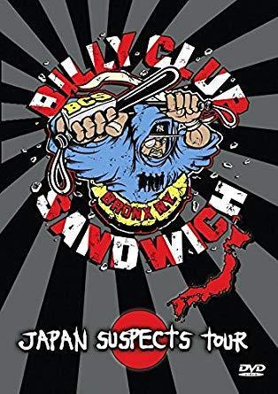 "Buy Now – Billy Club Sandwich ""Japan Suspects Tour"" DVD – Cold Cuts Merch"