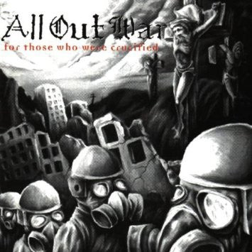 "Buy – All Out War ""For Those Who Were Crucified"" 12"" – Band & Music Merch – Cold Cuts Merch"