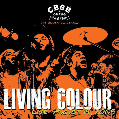"Living Colour ""‎CBGB OMFUG Masters: Live August 19, 2005 The Bowery Collection"" 12"""
